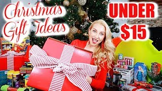 Cheap Christmas Gift Ideas for EVERYONE UNDER $15! (Found at the Grocery Store?!😱)
