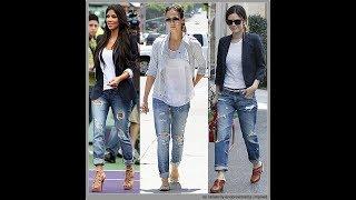 What does boyfriend style mean? Boyfriend Jeans Trends & Lookbook