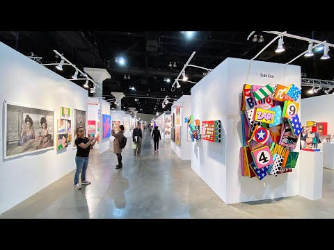 LA ART SHOW 2020  Walk Around