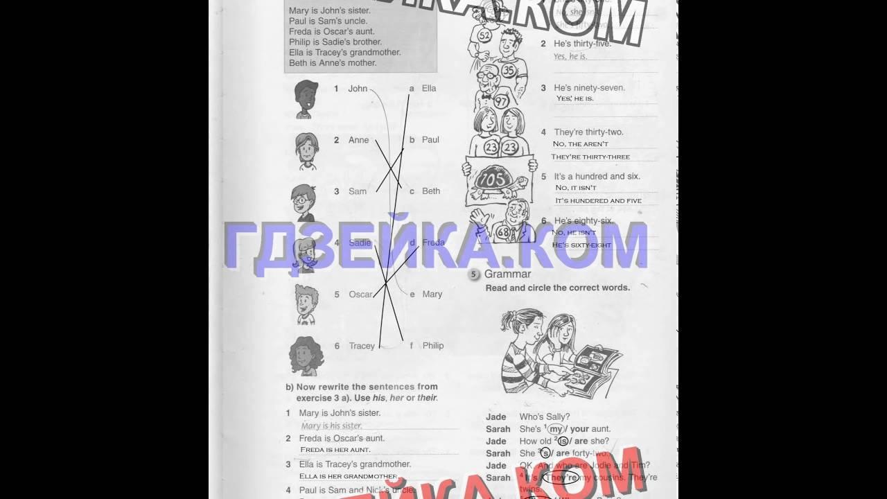 Решебник по английскому 5 класс т.в погарская рабочая тетрадь