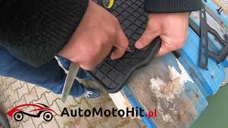 Dywaniki samochodowe gumowe dedykowane - super jakość, stopery