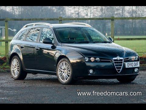 alfa romeo 159 sportwagon 2.0 jtdm 16v elegante 5dr + bluetooth +