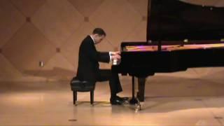 Joshua Hillmann Plays Mendelssohn Fantasy in F-sharp minor Op. 28 (3 of 3)