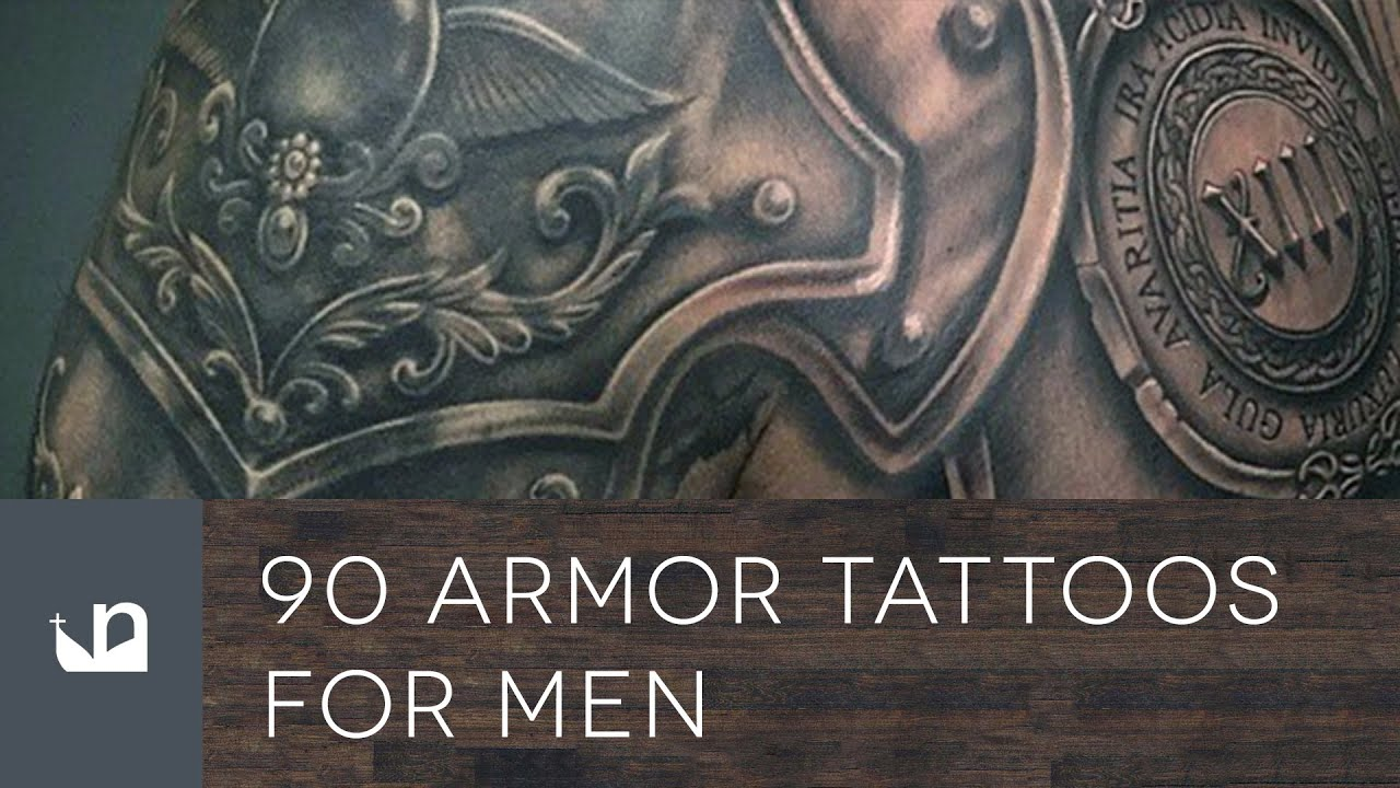 90 Armor Tattoos For Men Youtube