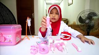 Unboxing Mainan ❤ Doctor Play Set Dental Clinic ❤ Jadi D...