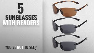 Top 10 Sunglasses With Readers [ Winter 2018 ]: GAMMA RAY 3 Pairs of Sports Bifocal Sunglasses