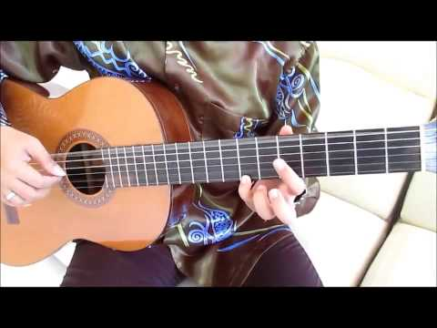 Romance de Amor Guitar Lesson Part 1 - Guitar Lessons for Beginners