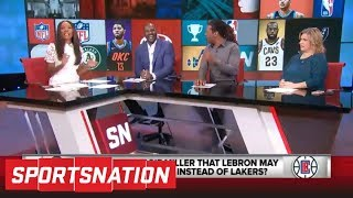 Reggie Miller says LeBron James might choose Clippers over Lakers | SportsNation | ESPN