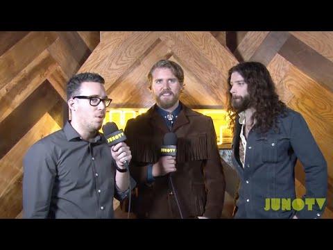 Sam Sutherland Interviews 2016 JUNO Nominees at The JUNO Nominee Press Conference | JUNO TV