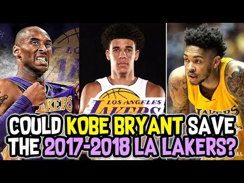 COULD KOBE BRYANT SAVE THE 2017-2018 LOS ANGELES LAKERS? NBA 2K18 MY LEAGUE