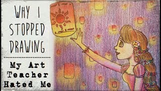 My Art Teacher Hated Me (Why I stopped drawing) // Story Time thumbnail