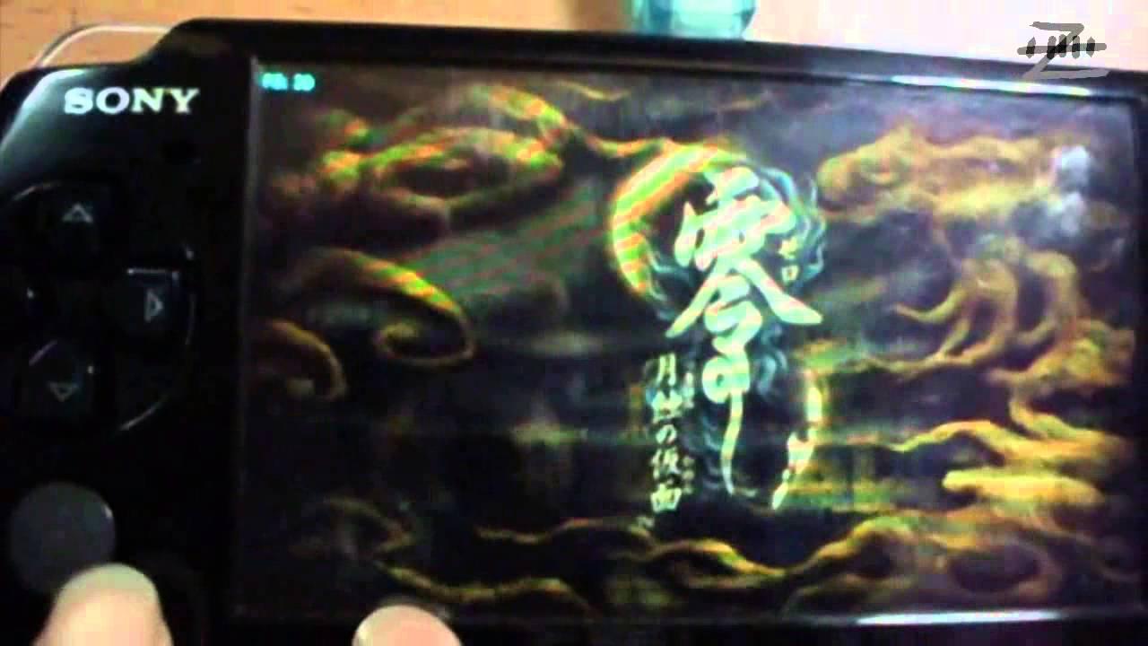 PSP] Fatal Frame IV -PSPdisp [TEST] - YouTube