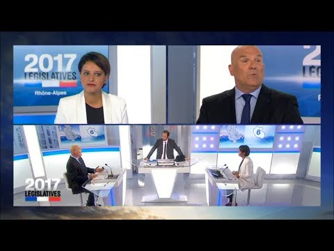 Législatives 2017 : Débat entre Najat Vallaud Belkacem / Bruno Bonnell