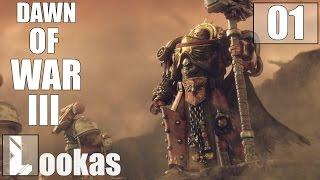 Warhammer 40000 Dawn of War 3   gameplay pl   Kampania   Obrona Twierdzy Varlock