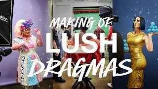 Lush DRAGmas: Behind the Scenes with Shea Couleé, Kim Chi and Detox