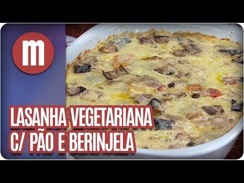 Lasanha vegetariana com pão - Mulheres  (03/06/16)