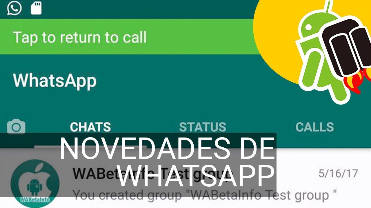 Whatsapp Para Android Prepara Más Cambios Accesos Directos