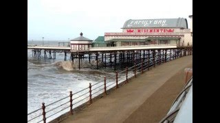 Blackpool Seafront during Storm Gertrude January 2016