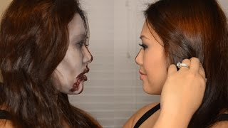 Glam/zombie Halloween Tutorial