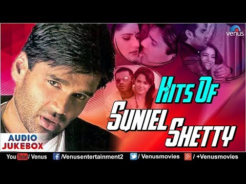 Hits Of Suniel Shetty  90s Bollywood Romantic Songs  JUKEBOX  Evergreen Hindi Love Songs
