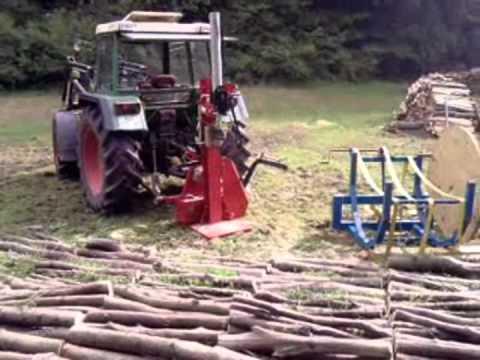 Etwas Neues genug Brennholz spalten und bündeln - YouTube #UO_85