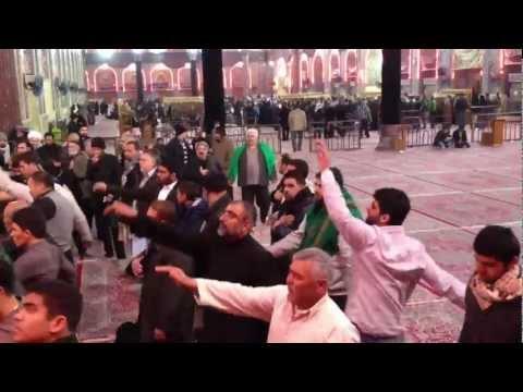 Mataam inside shrine of Imam Hussain a.s