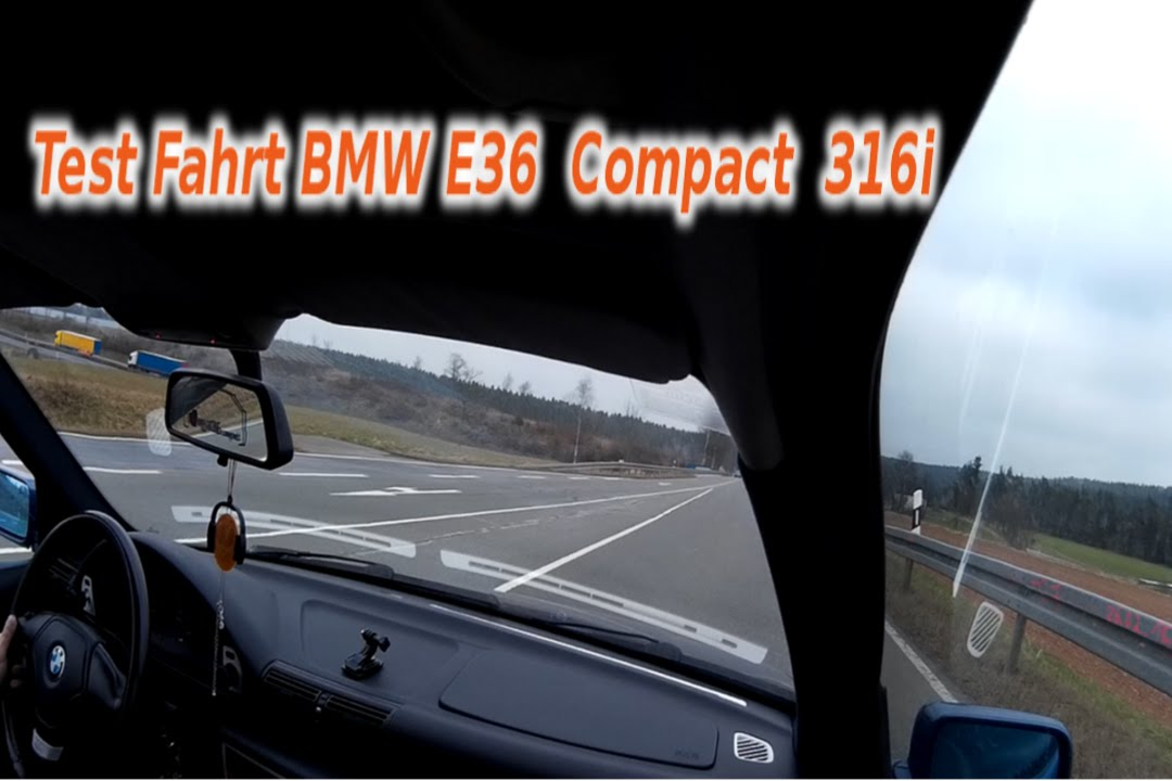 test fahrt mit sommerreifen bmw e36 compact 316i youtube. Black Bedroom Furniture Sets. Home Design Ideas