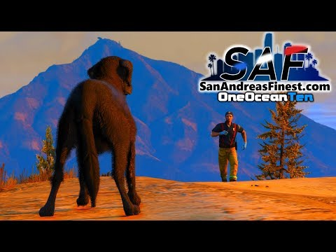 SA'F #149 - Fire Dog Rescues First Victim!   GTA V RP