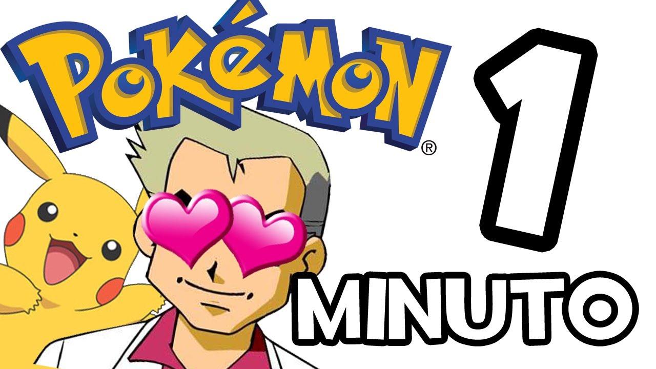 Pokemon en 1 minuto