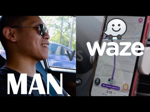 Beating Manila's Traffic: Waze? Or Driver's Instincts?