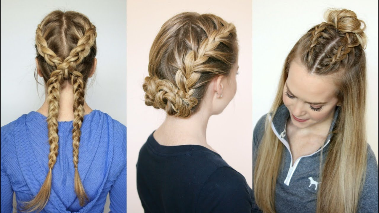 3 sporty hairstyles | missy sue