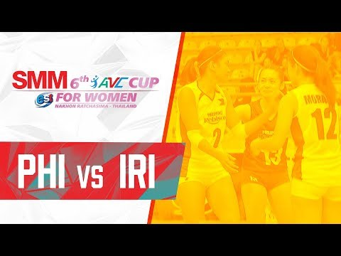 Iran def. Philippines, 3-2 (REPLAY VIDEO) 2018 AVC Cup | September 17