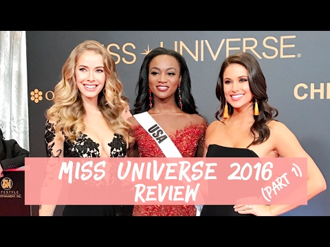 Miss Universe 2016 Review with #OliNia 2 Miss USA's | Nia Sanchez