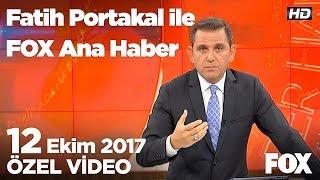 Erdoğan ve Kılıçdaroğlu'nun Ecevit atışması... 12 Ekim 2017 Fatih Portakal ile FOX Ana Haber