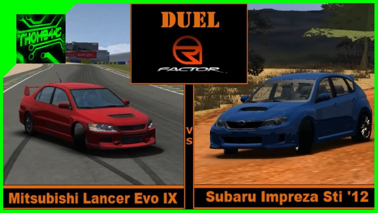 subaru impreza rfactor download