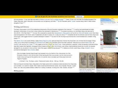 Citing a Wikipedia Article Using EasyBib