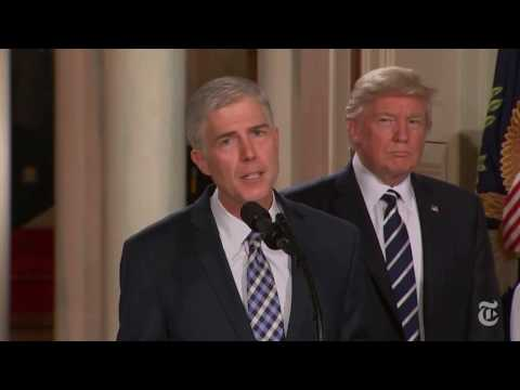 Trump Selects Gorsuch for Supreme Court