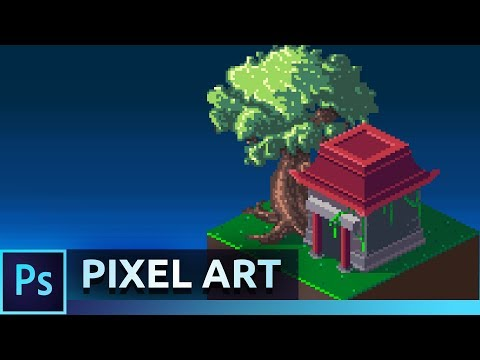Isometric Pixel Art Tutorial | Photoshop CC