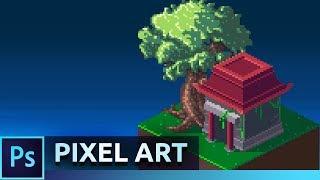 Isometric Pixel Art Tutorial | Photoshop CC