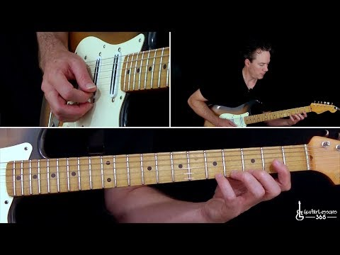 Steely Dan - Reelin' In The Years Guitar Lesson (Part 3)