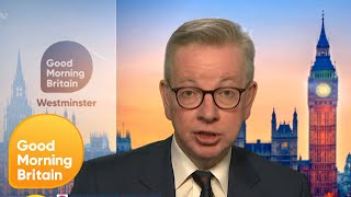 Michael Gove Explains What Is Essential Work Through the Lockdown? | Good Morning Britain