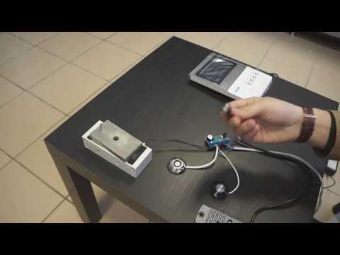 Как подключить электромагнитный замок к видеодомофону