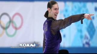 Jason Brown -- Olympic Figure Skater (KOAA)