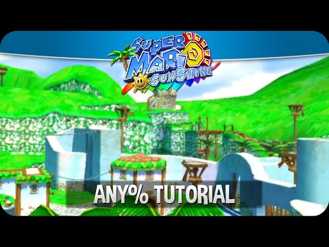 Super Mario Sunshine Any% Tutorial | Basics, Airstrip, + Bianco