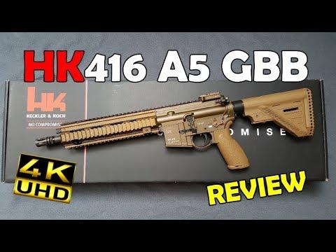 VFC HK416A5 GBB - Review 4k/UHD [GER]