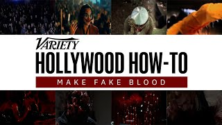 How to Make Fake Blood, According to a Hollywood Special Effects Expert