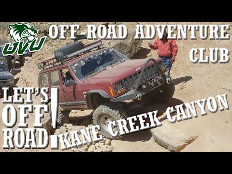LET'S OFF-ROAD! - UVU Off-Road Adventure Club - Kane Creek Canyon - Jeep Safari 2016