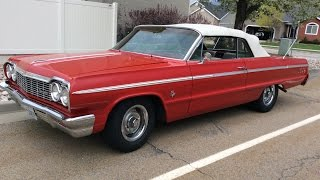 1964 Chevy Impala SS Convertible 409 Dual Quad!