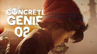 Concrete Genie (PL) #2 - Targ rybny (Gameplay PL / Zagrajmy w)