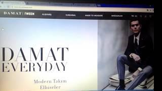 Damattween. Обзор интернет магазина мужской одежды. Турция.